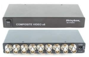 1x8 Video(BNC) Distribution Amplifier