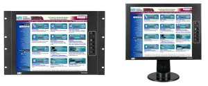 7RU LCD monitor, 17 in., 1280x1024 resolution