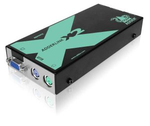 AdderLink X2 Series Standard - VGA, PS/2, RS232 extender pair to 200 meters. No Deskew