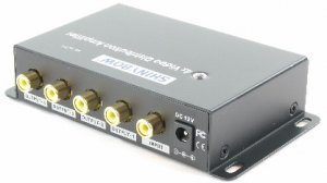 1x4 Composite Video Digital Distribution Amplifier