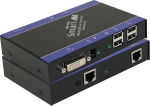 DVI-D/USB CAT6 STP Receiver.