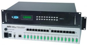 Audio/Video Matrix Switch with 8 VGA In & 8 CAT5 Out