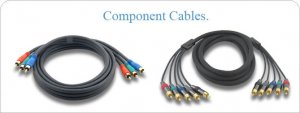 3 RCA Component Cable (M-M) 6 ft - Retail