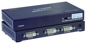2-Port DVI Video Splitter