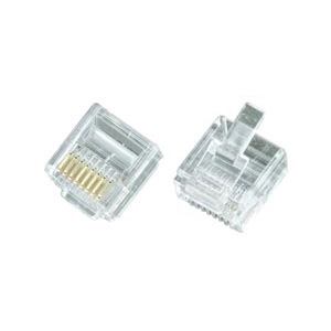 RJ45 male connector for CAT6 Super Flat Cable