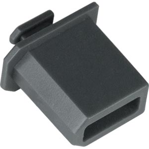 1394 FireWire Female Connector Dust Cover - 10-pack