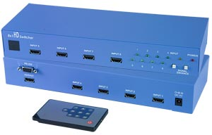 8 Port HDMI Switch 8x1 HDMI Switcher [se-hd-8-lc]