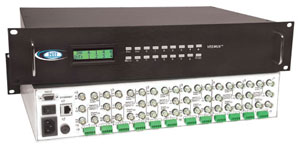 8 in 4 out HDTV video/audio matrix switch