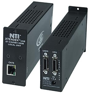 USB KVM Extender via CAT5 Local Only with Stereo Audio