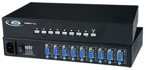 8 port VGA switch, with control buttons on front panel