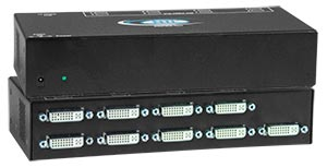 8-Port DVI Video Splitter